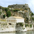 Ancient Hellenic temple, Corfu — Stock Photo