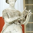 Stock Photo: Statue of Muse Terpsichore