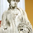 Statue of a Muse Melpomene — Stock Photo