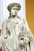 Statue of a Muse Melpomene — Stock Photo