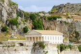 Templo grego, corfu, grécia — Foto Stock