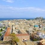City of Kerkyra, aerial view — Stock Photo #28207425