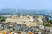 City of Kerkyra, aerial view — Fotografia Stock