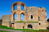 Ancient Roman Kaiserthermen in Trier — Stok fotoğraf