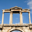 The arch of Hadrian, Athens — Stock Photo