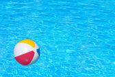 Надувные красочные мяч — Стоковое фото