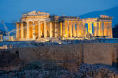 Parthenon on the Acropolis in Athens — Стоковое фото