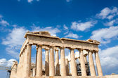 Parthenon on the Acropolis in Athens — 图库照片