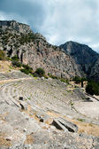 Ancient theater, Delphi, Greece — Stockfoto