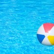Inflatable ball in swimming pool — Stock Photo #41556777