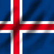 Flag if Iceland — Stock Photo #9903447