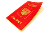 Passaporte russo. — Foto Stock