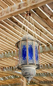 The lamp in the Arabic style — Stock Photo
