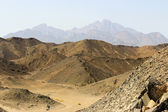 The mountains of the Red Sea — Stock Photo