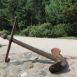 Stock Photo: Old anchor