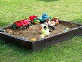 Děti hrají místo — Stock fotografie