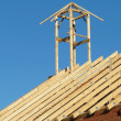 Stock Photo: Roof construction