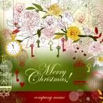 Christmas card — Stock Vector #12908670
