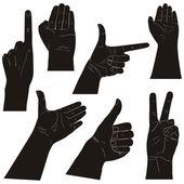 Hands illustration — Stock Vector