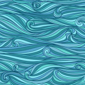 Waves background — Vecteur