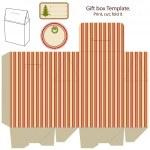 Gift box template. — Stock Vector #13613859