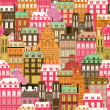 Royalty-Free Stock Vector Image: Old city pattern
