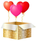 το δώρο του αγίου βαλεντίνου — Διανυσματικό Αρχείο