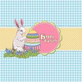 Easter template — Stok Vektör