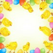 Royalty-Free Stock Imagem Vetorial: Easter background