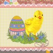 Easter template — Stock Vector