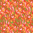 Abstract doodles pattern — Image vectorielle