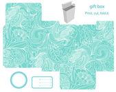 礼品盒模板 — 图库矢量图片