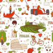 Italy pattern — Stock Vector