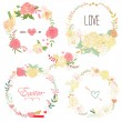Floral Frame Collection — Stock Vector #43943865