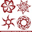 Tattoo sun — Stock Vector #13545515