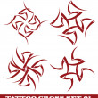 Royalty-Free Stock Vector Image: Tattoo cross
