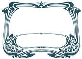 Framework in style art-nouveau — Stock Vector
