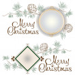 Christmas template — Stock Vector #16817927
