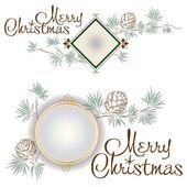 Christmas template — Stock Vector