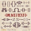 Decorative elements - Image vectorielle