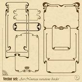 Vector abstracte kader — Stockvector