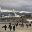The central area of the Olympic Park — Stock Photo