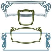 Вектор абстрактный рамки — Cтоковый вектор