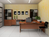 Interior office — Foto Stock