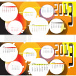 Calendar for 2013 — Vector de stock #13435676