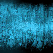 Grunge blue home background - Photo