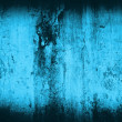Grunge blue home background — Stock Photo