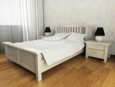 Bedroom — Stockfoto