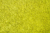 Green carpet texture background — Stock Photo