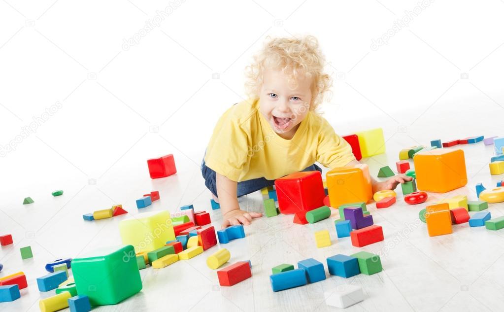 儿童快乐玩块玩具